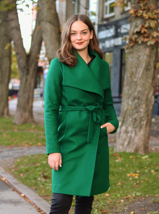 Roheline mantel