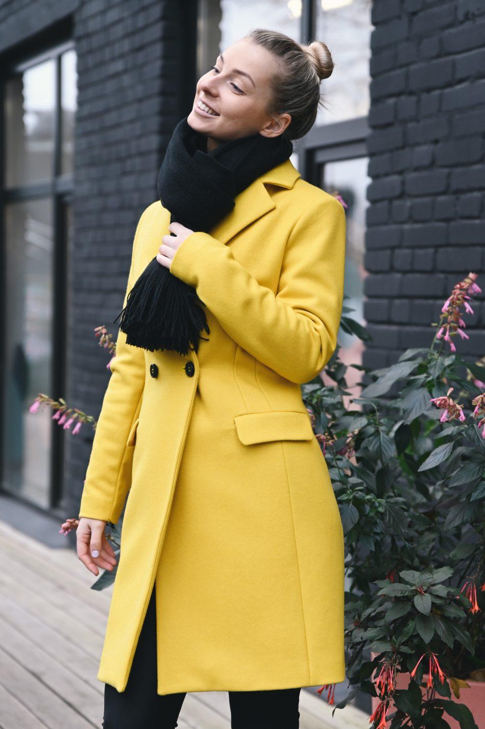 Kollane mantel